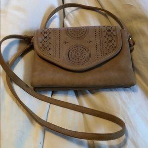 Handbags - Tan small cross Body